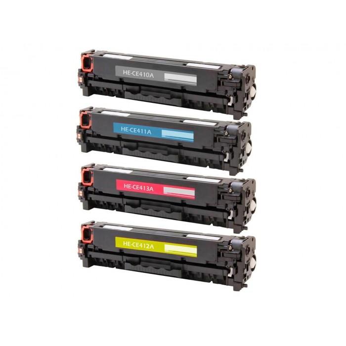 Toner do HP CE410 X - Czarny