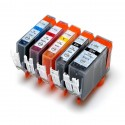 5x Tusz do Canon PGI525 / CLI526 - komplet kolorów