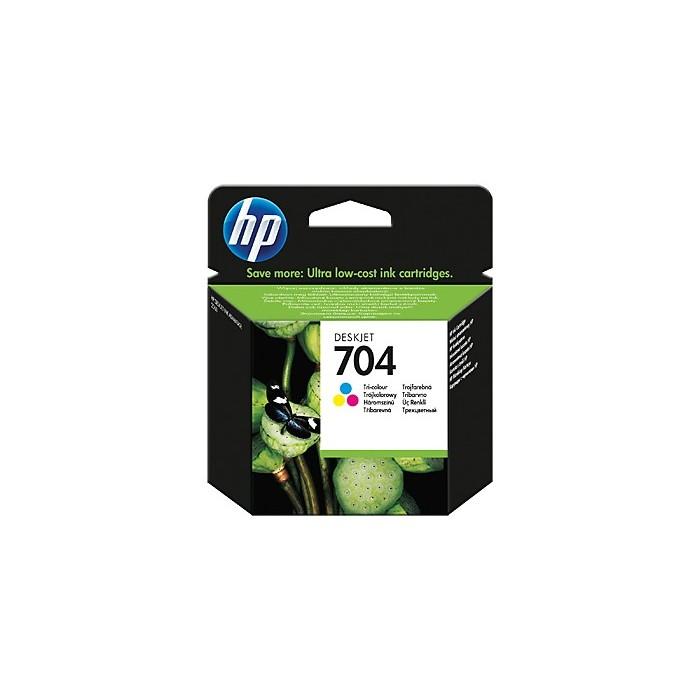 Tusz HP 704 - kolor