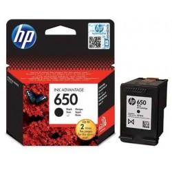 Tusz HP 650 - czarny - oryginalny
