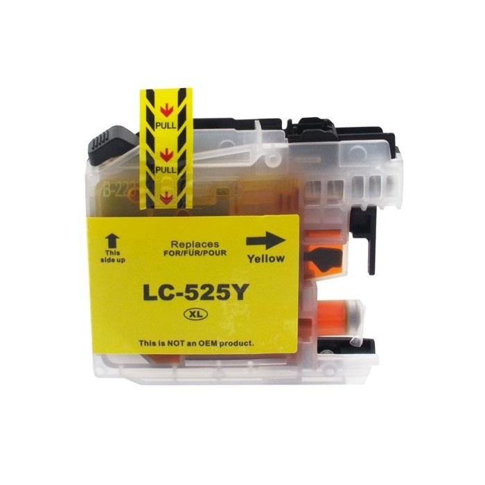 Tusz Brother LC 525 yellow