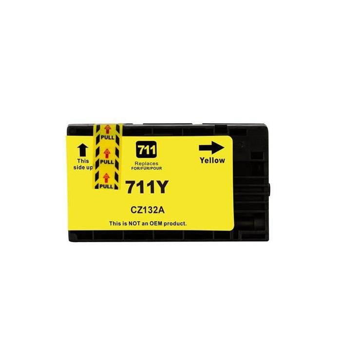 Tusz HP 711 XL - żółty