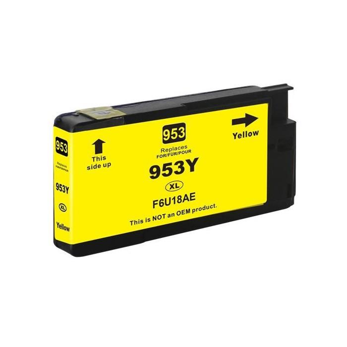 Tusz HP 953 XL - żółty