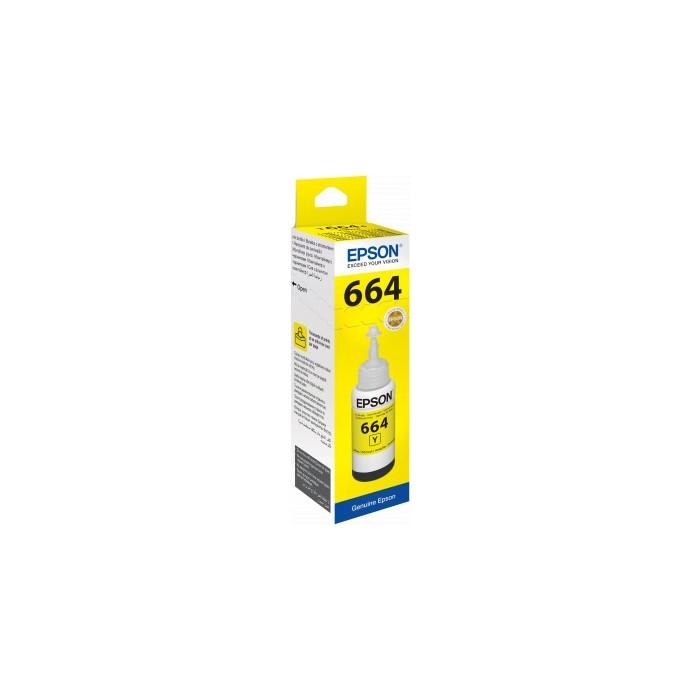 Oryginalny tusz Epson T6644 - yellow