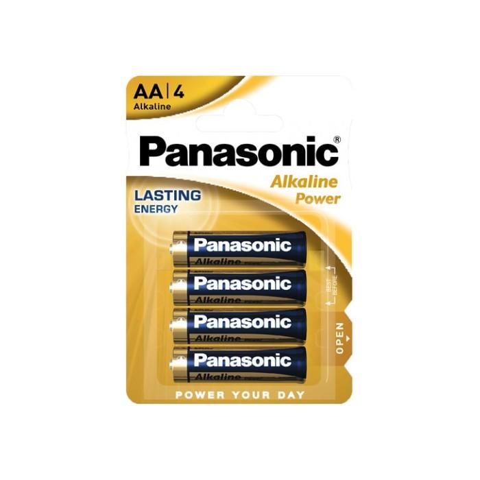 4x Bateria Panasonic AA (alkaliczna)