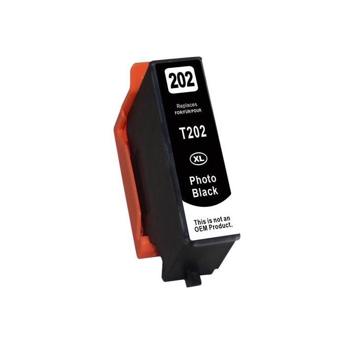 Tusz Epson T202 (202XL) - czarny fotograficzny