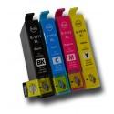4x Tusz do Epson T1811 / T1814 (18XL) - komplet kolorów