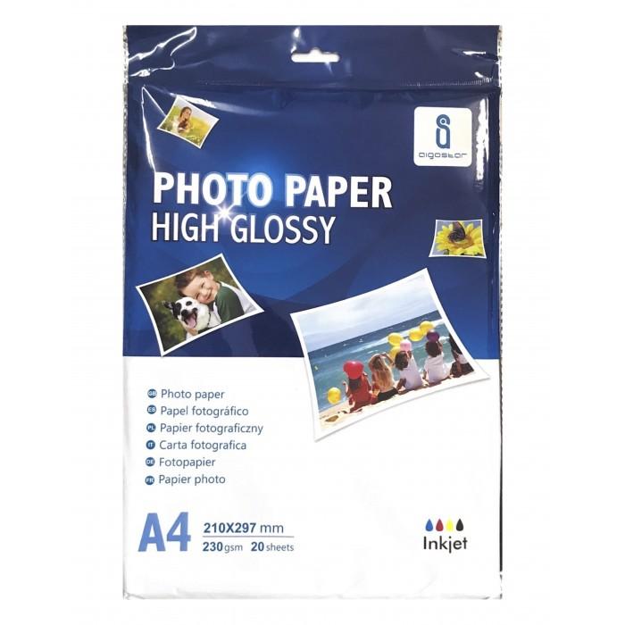 Papier Fotograficzny AIGOSTAR A4 (180g) - 20 arkuszy