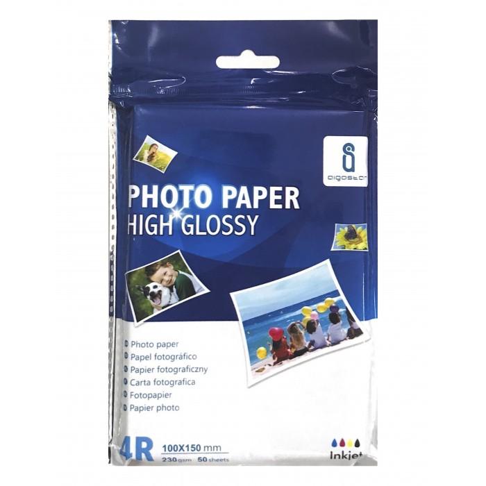 Papier Fotograficzny AIGOSTAR 10x15 (230g) - 50 arkuszy