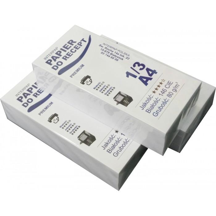 Papier do wydruku recept - 6 ryz