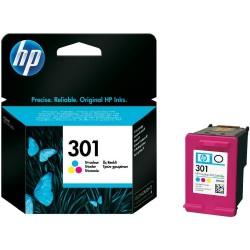 Oryginalny tusz HP 301 - kolor