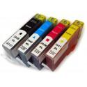 4x Tusz HP 364 XL - komplet kolorów