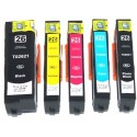 5x Tusze do Epson T2621 / T2634 (26XL) - komplet kolorów