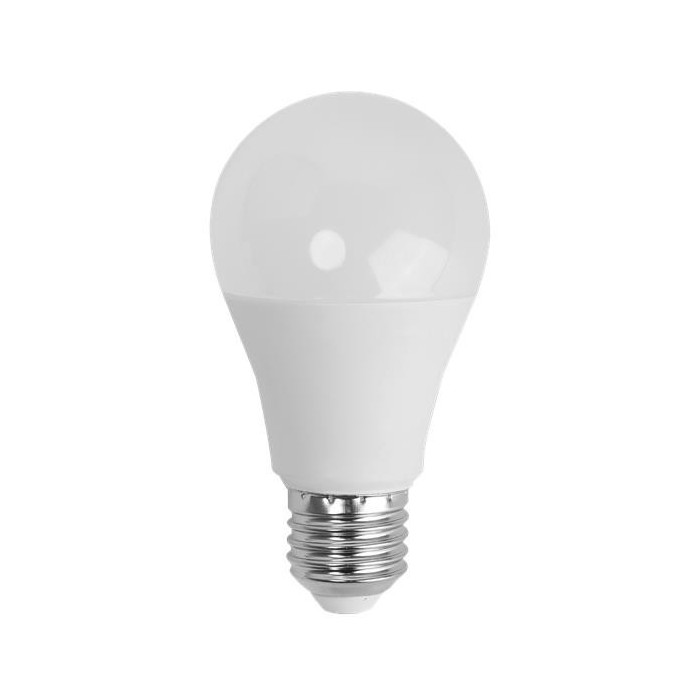 Żarówka LED E27 9W (A60B / kulka) - zimna biel