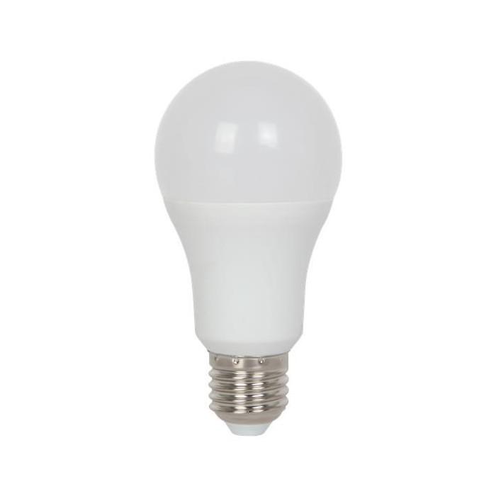 Żarówka LED E27 15W (A60B / kulka) - ciepła biel