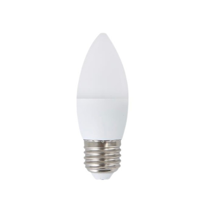 Żarówka LED E27 4W (C37 / świeczka) - ciepła biel