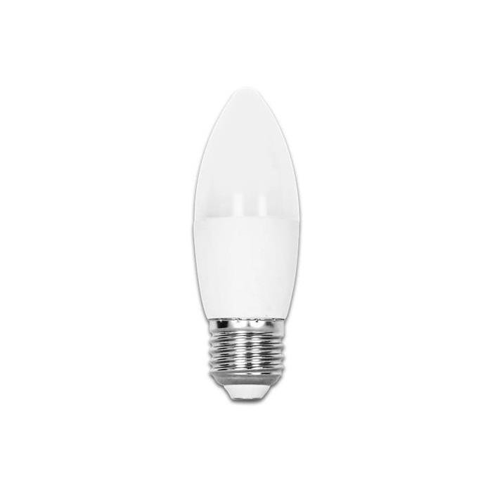 Żarówka LED E27 7W (C37 / świeczka) - ciepła biel