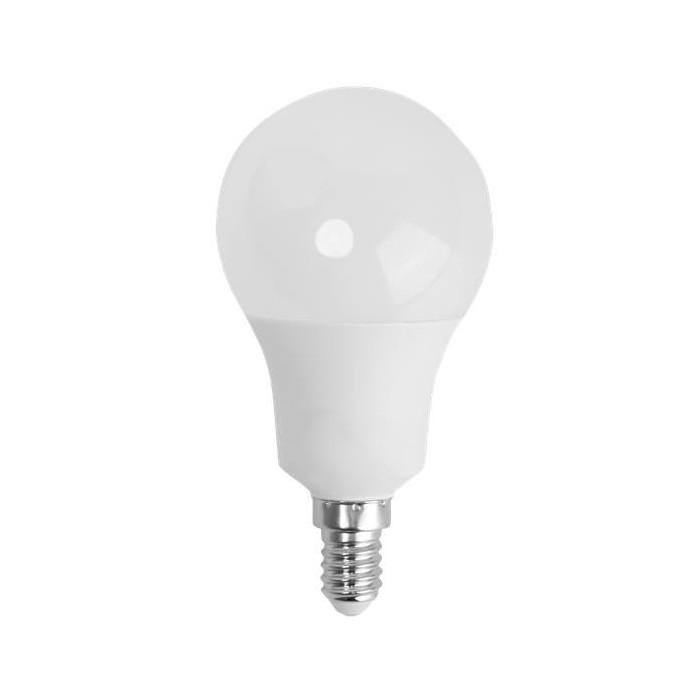 Żarówka LED E14 9W (A60B / kulka) - zimna biel