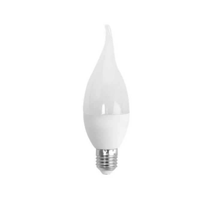 Żarówka LED E27 4W (CL37 / świeczka) - zimna biel