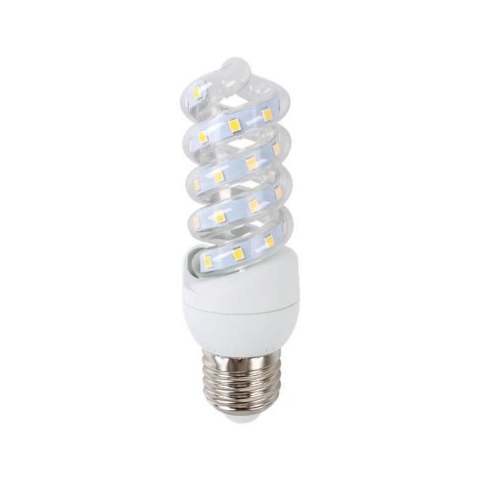 Żarówka LED E27 7W (SPIRAL) - zimna biel