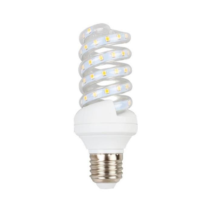 Żarówka LED E27 11W (SPIRAL) - zimna biel
