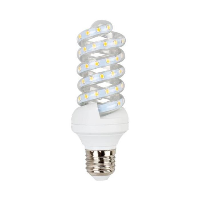 Żarówka LED E27 13W (SPIRAL) - zimna biel