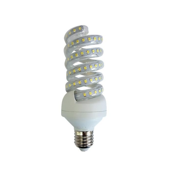 Żarówka LED E27 18W (SPIRAL) - zimna biel