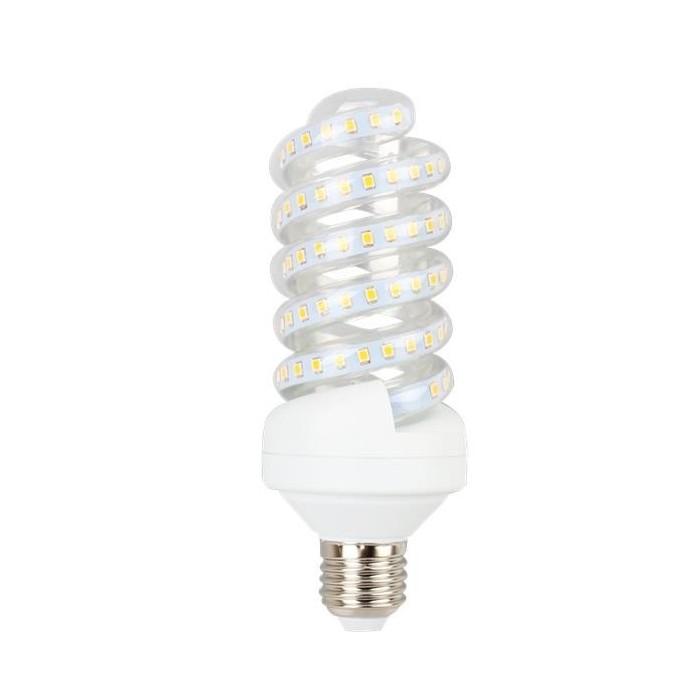 Żarówka LED E27 20W (SPIRAL) - ciepła biel