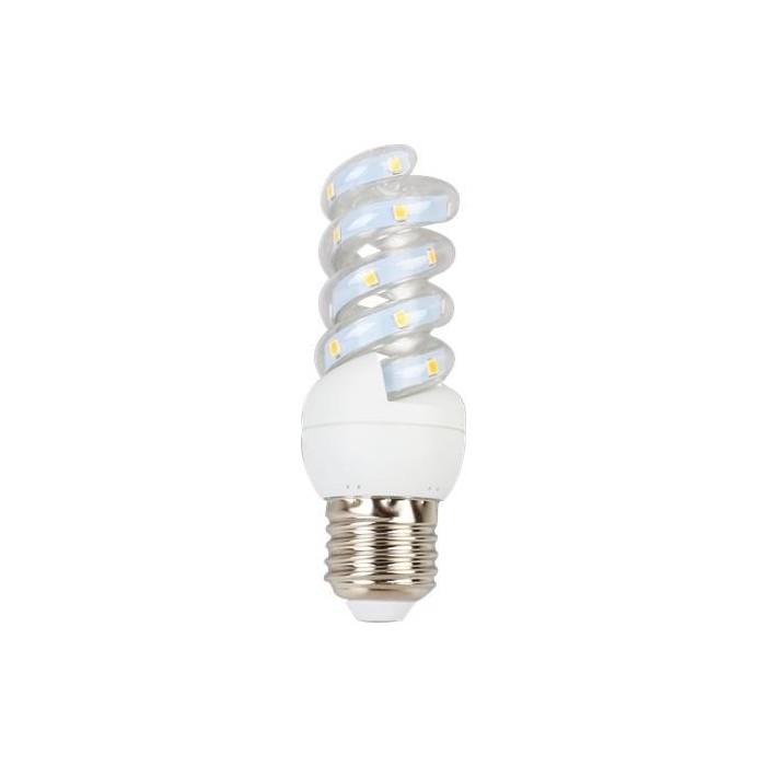 Żarówka LED E27 5W (SPIRAL) - ciepłe biel