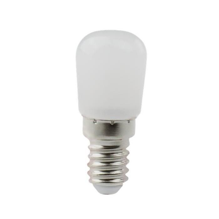 Żarówka LED E14 2W (T26 / do lodówki) - zimna biel
