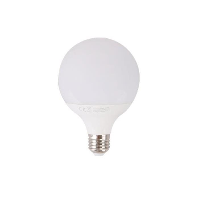 Żarówka LED E27 15W (G95 / duża kula) - ciepła biel