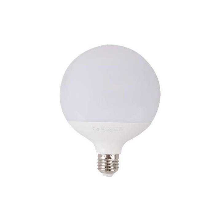 Żarówka LED E27 18W (G120 / duża kula) - zimna biel