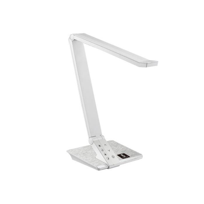 Lampka biurkowa LED LIGHT03 ze ściemniaczem - biała