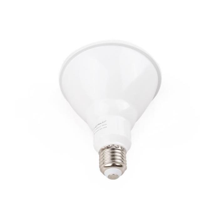 Żarówka LED E27 18W (PAR 38 / punktowa) - ciepła biel