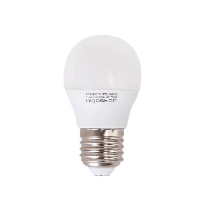 Żarówka LED E27 6W (G45 / mała kulka) - ciepła biel