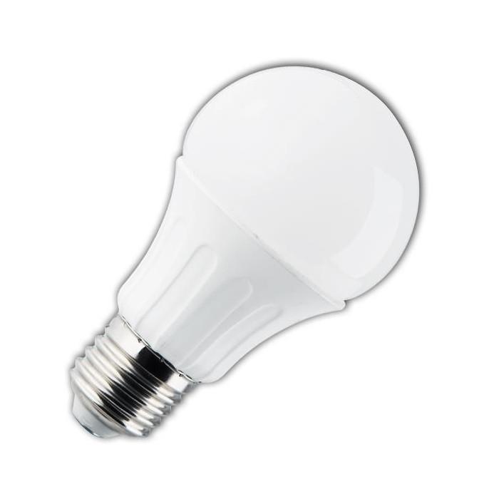 Żarówka LED E27 9W (A60B / kulka /SCIEMNIALNA) - zimna biel