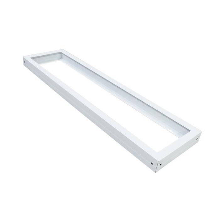 Ramka do zawieszenia natynkowego panelu LED 30x120 cm