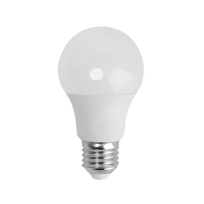 Żarówka LED E27 8W (A60B / kulka) - zimna biel