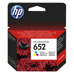 Tusz HP 652 oryginalny - kolor