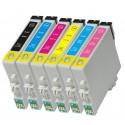 6x Tusz Epson T0481 - T0486 (komplet)