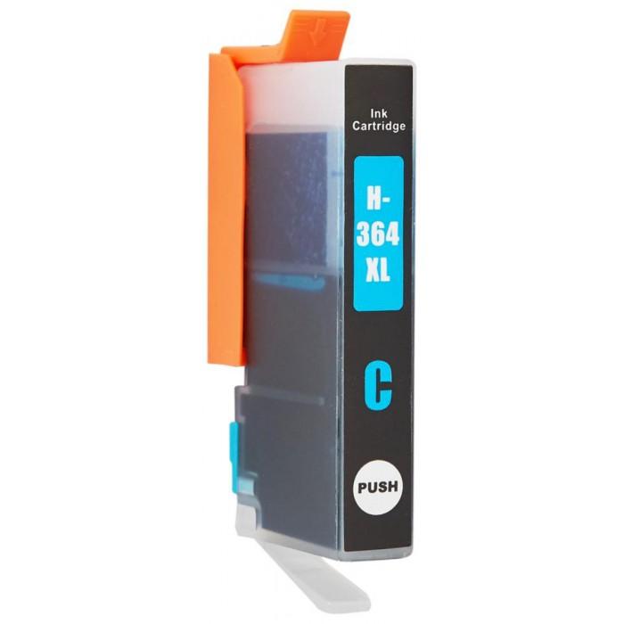 Zamiennik tuszu HP 364 Cy XL (CB323EE / 12 ml / Niebieski)