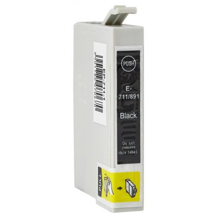 Zamiennik tuszu do Epson T0711 Bk XL - czarny