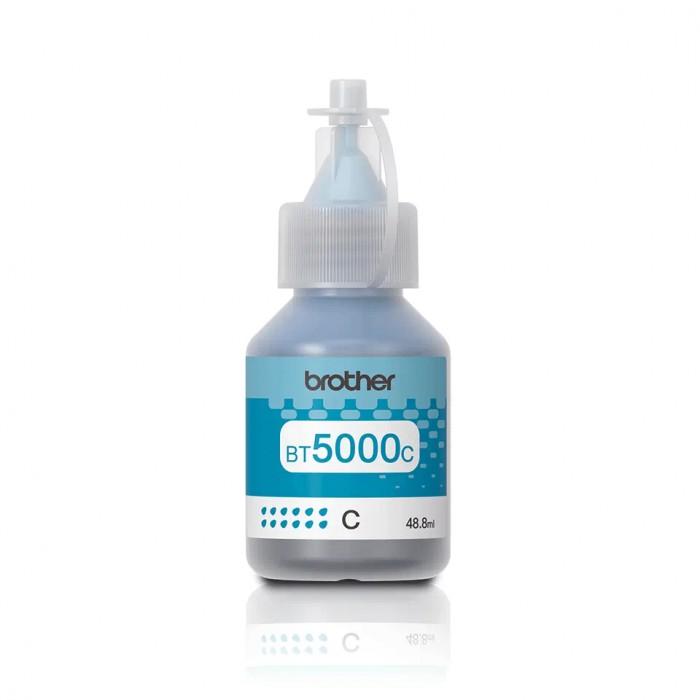 Oryginalny tusz Brother BT5000 C (48,8 ml) - niebieski