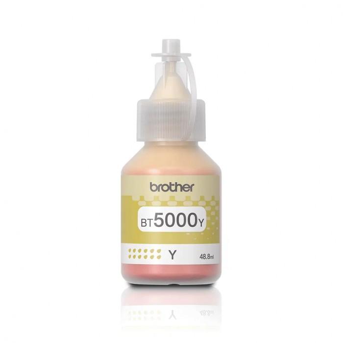 Oryginalny tusz Brother BT5000 Y (48,8 ml) - żółty
