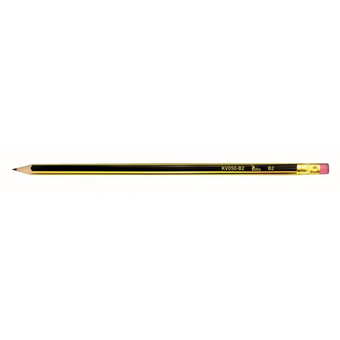 Ołówek drewniany Tetis KV050 B2 (miękki)