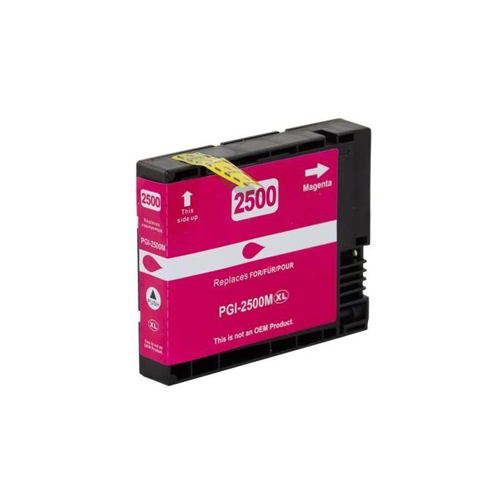 Zamiennik tuszu do Canon PGI-2500 M - różowy