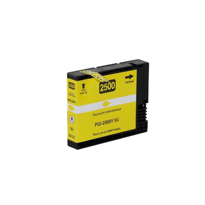 Zamiennik tuszu do Canon PGI-2500 Y - żółty
