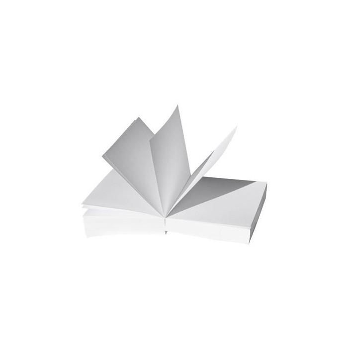 Notes kostka biały DOTTS 85 mm x 85 mm - klejony