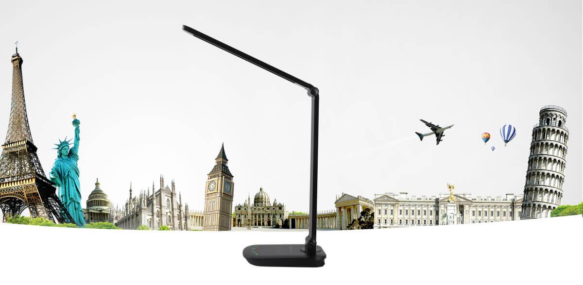 Lampa z ładowaniem bezprzewodowym Aigostar